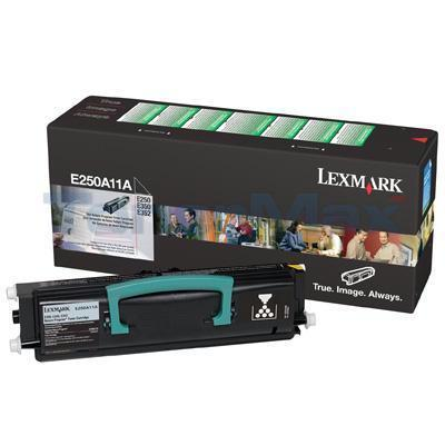 LEXMARK E350D TONER CARTRIDGE BLACK RP 3.5K
